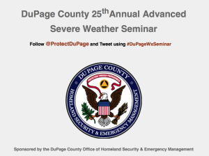 DuPage County Severe Weather Seminar